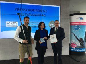 Pressekonferenz Weltwassertag 2018 Köstinger