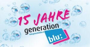 Wir feiern 15 Jahre Generation Blue!