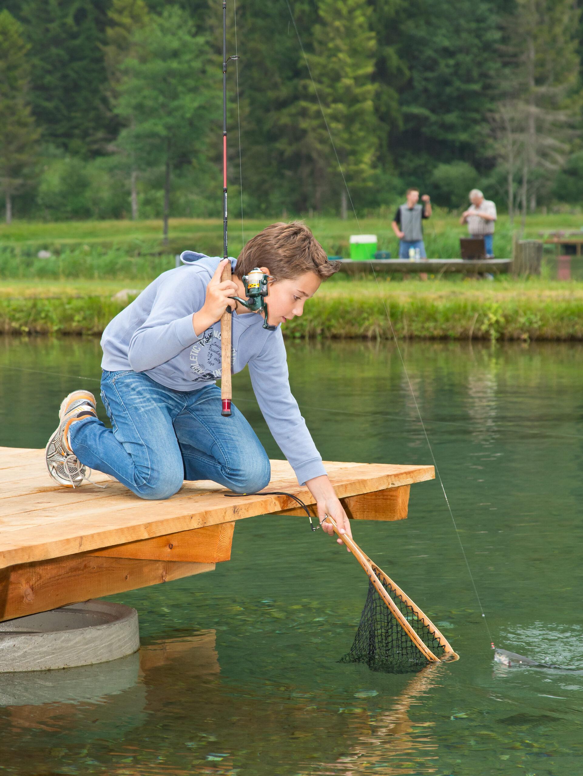 Abenteuer am Wasser: Angeln