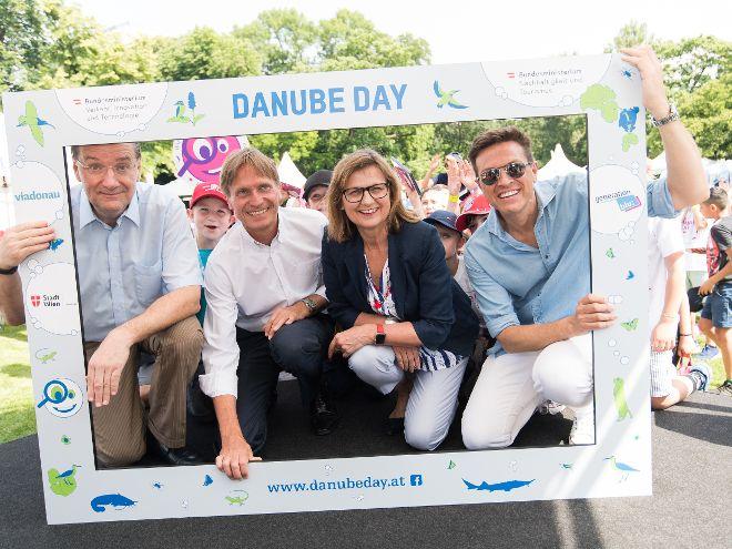 Heute fand im Wiener Stadtpark der Danube Day 2019 statt.