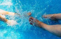 Wasserverbrauch Pools