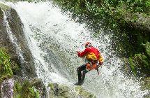 Waterfall descent Chamana